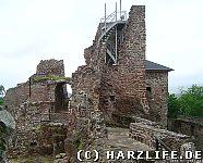 Bergfried mit Aussichtsplattform
