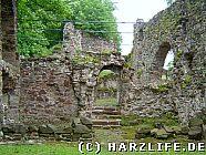 Reste der Burgkapelle
