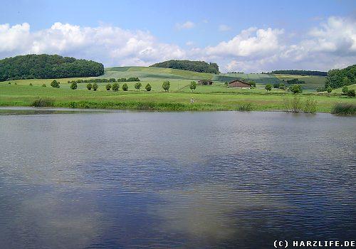 Der Opfersee bei Liebenrode