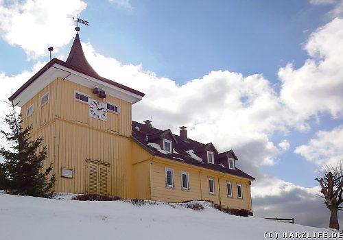 Das Glockenhaus auf dem Glockenberg