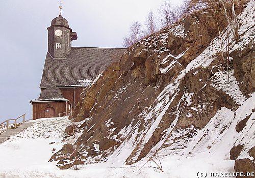 Trautensatein - Drudenstein und Kirche