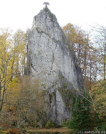 Blick auf den Hübichenstein
