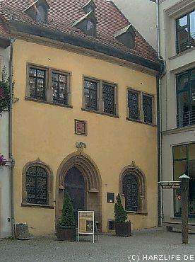 Das Sterbehaus von Dr. Martin Luther