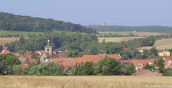 Blick auf Meisdorf