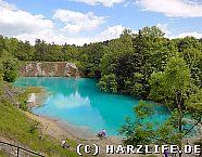 Ausflugsziel Blauer See