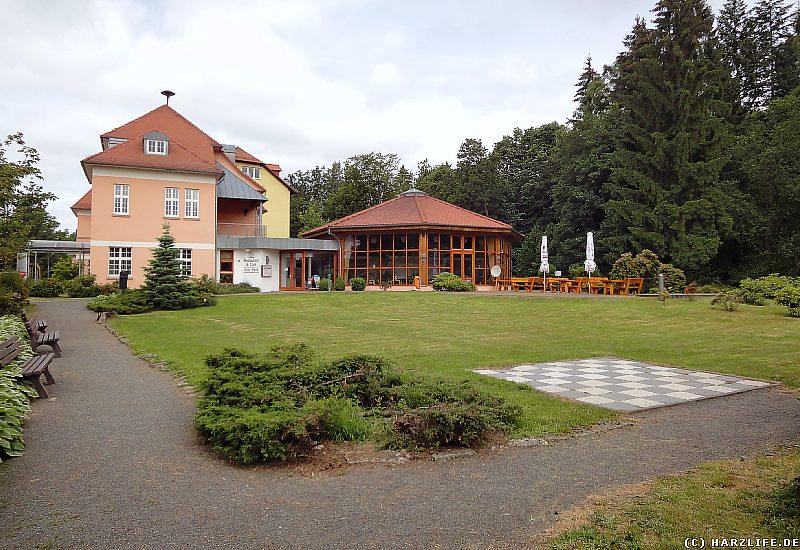 Der Kurpark in Sülzhayn