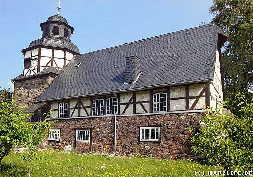Die St.-Jacobi-Kirche in Wiegersdorf