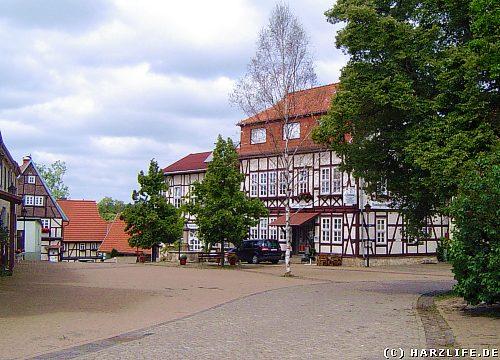 Der Marktplatz von Dankerode