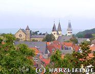 Blick vom Goslarer Zwinger