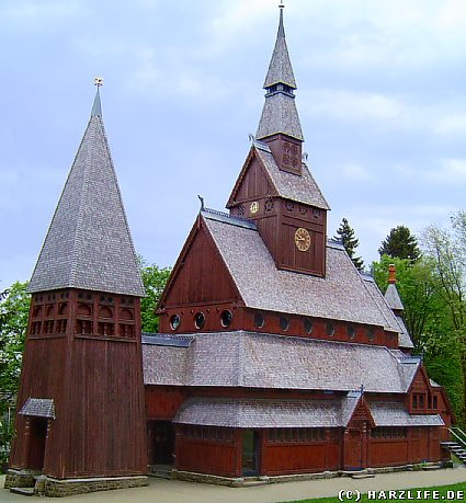 The church into Hahnenklee