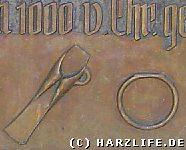 Infotafel zum Bronzezeitfund