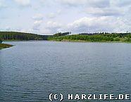 Kiliansteich - Aussicht vom Staudamm