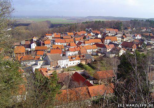 Blick auf Langenstein