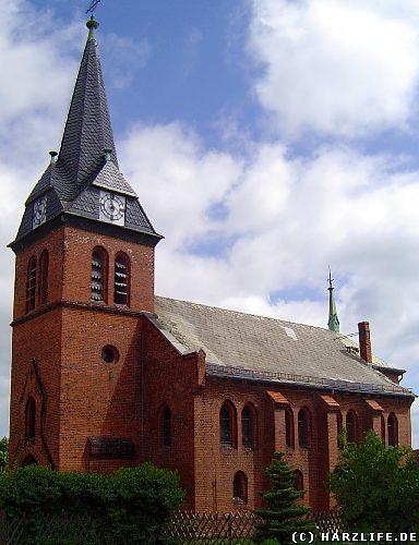 Die Kirche St. Petrus und Paulus in Neudorf im Harz