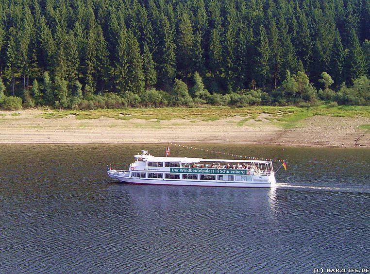 Okerstausee - Ausflugsschiff