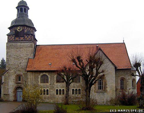 Die St.-Mauritius-Kirche in Gittelde