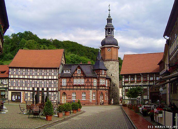 Stolberg - Der Marktplatz
