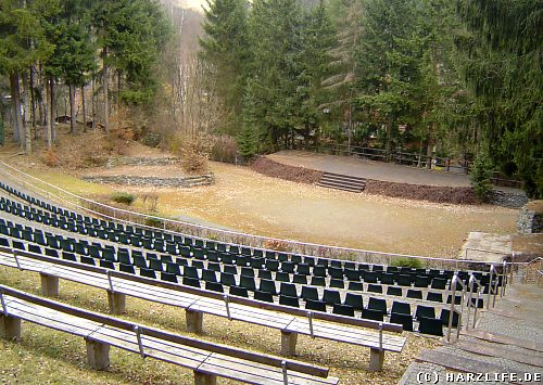 Die Waldbühne in Altenbrak