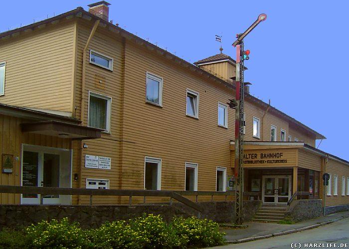 Innerstetalbahn - Bahnhof Clausthal-Zellerfeld