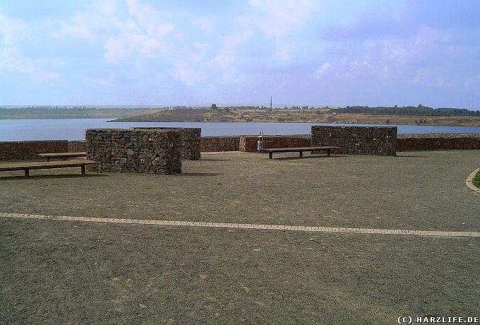 Aussichtspunkt am Nordufer des Concordiasees