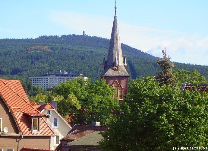 Braunlage - Ortsansicht mit Wurmberg