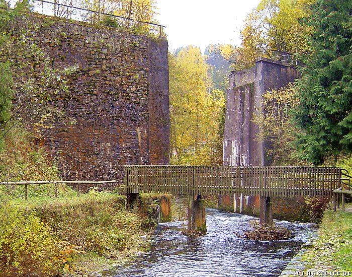 Innerstetalbahn - Brückenruine