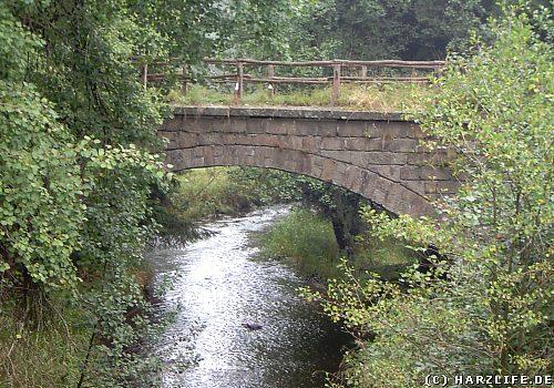 Eisenbahnbrücke über die Warme Bode