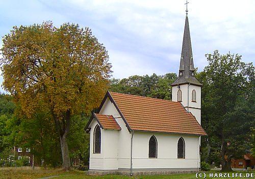 Die kleinste Holzkirche Deutschlands