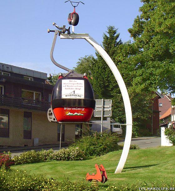 Gondel der Wurmbergseilbahn in Braunlage