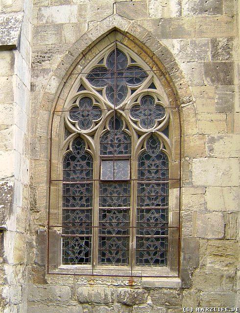 Gotisches Fenster im Kloster Walkenried