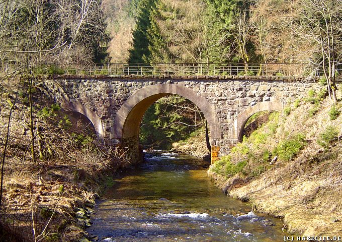 Innerstetalbahn - Brücke über die Innerste