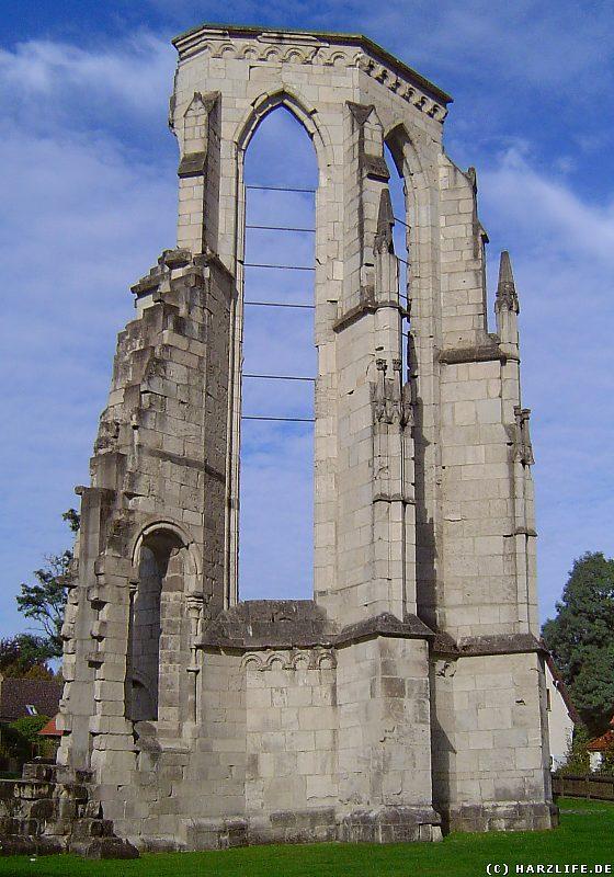 Ruine Klosterkirche Walkenried - Der sanierte Hohe Gothische Chor