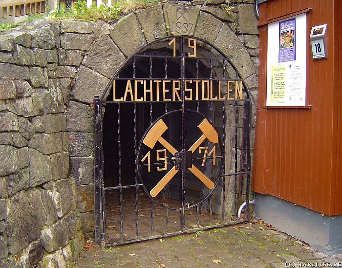 Neues Mundloch des 19-Lachter-Stollens in Wildemann