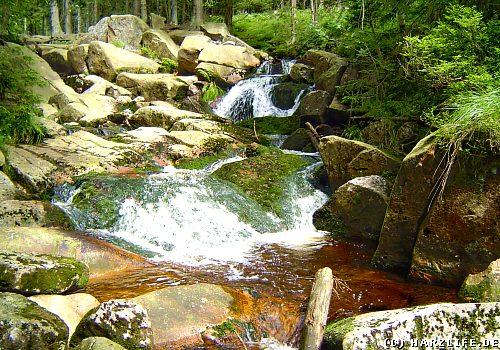 Der Obere Bodewasserfall