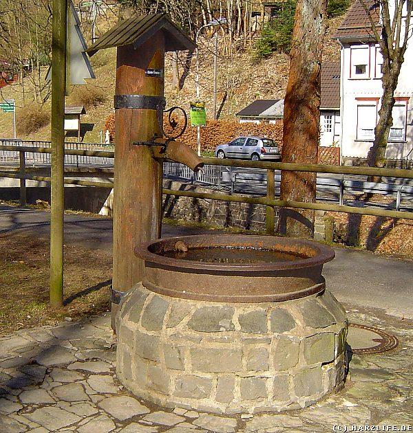 Die ehemalige Trinkwasserversorgung in Wildemann