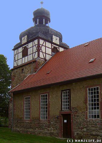 Die St.-Andreas-Kirche in Uftrungen