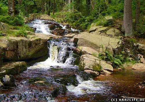 Der Untere Bodewasserfall