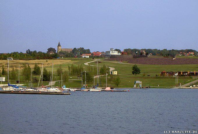 Yachthafen am Concordia-See