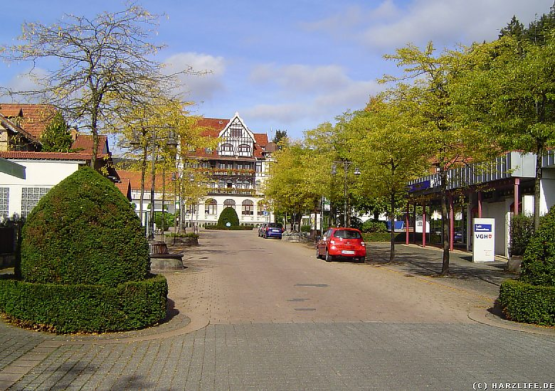 Blick über die Hindenburgstraße
