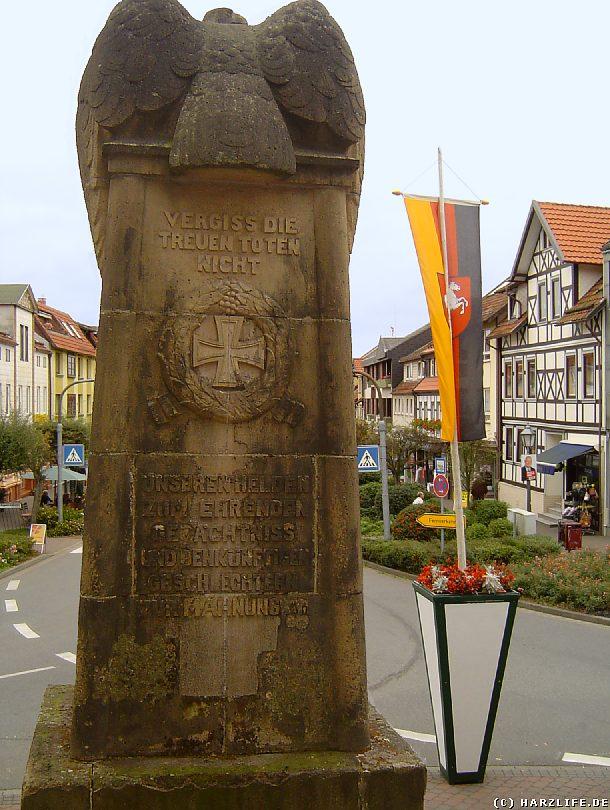 Denkmal zur Erinnerung und Mahnung an die Toten der Weltkriege