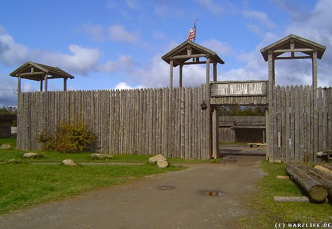 Das Fort William Clark