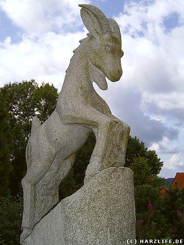 Das Wappentier von Hohegeiß