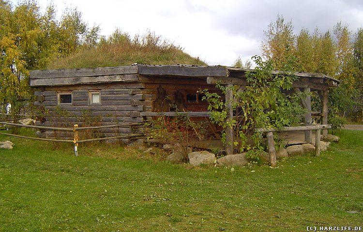 Hogan - typisches Blockhaus der Navajo-Indianer