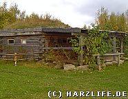 Hogan - indianisches Blockhaus