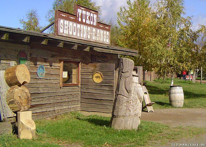 Die Bogenhalle Yukon Shooting Range