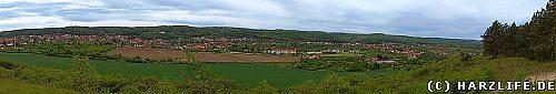 Blick vom Bückeberg auf Gernrode