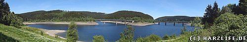 Straßenbrücken über den Okerstausee